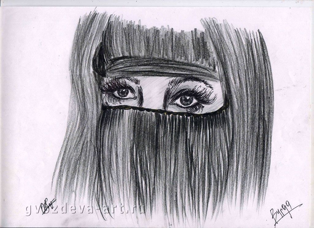 Рисунок Burqa