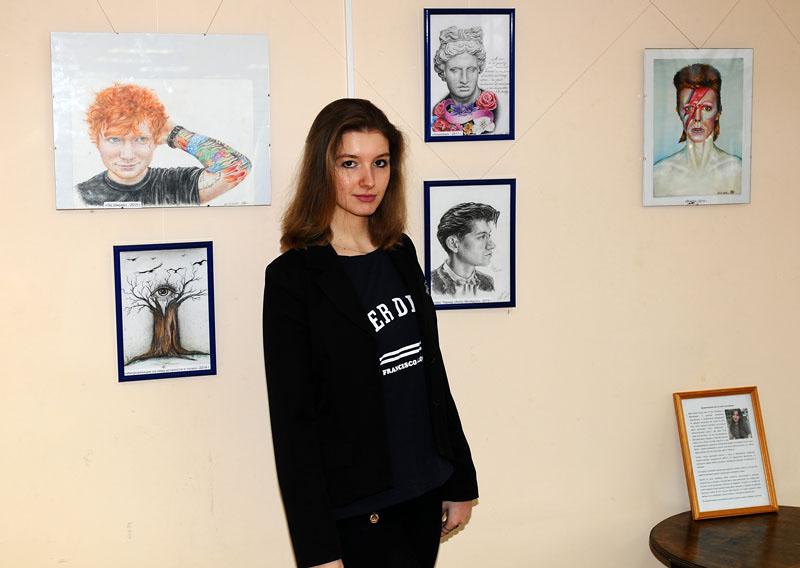 Выставка работ Ольги Гвоздевой в Ивантеевке